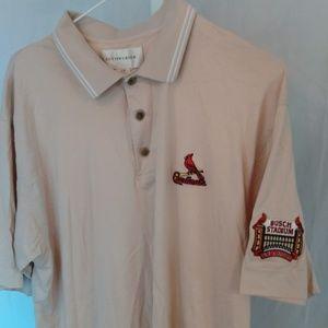 St. Louis Cardinals Busch Stadium Polo Style Shirt